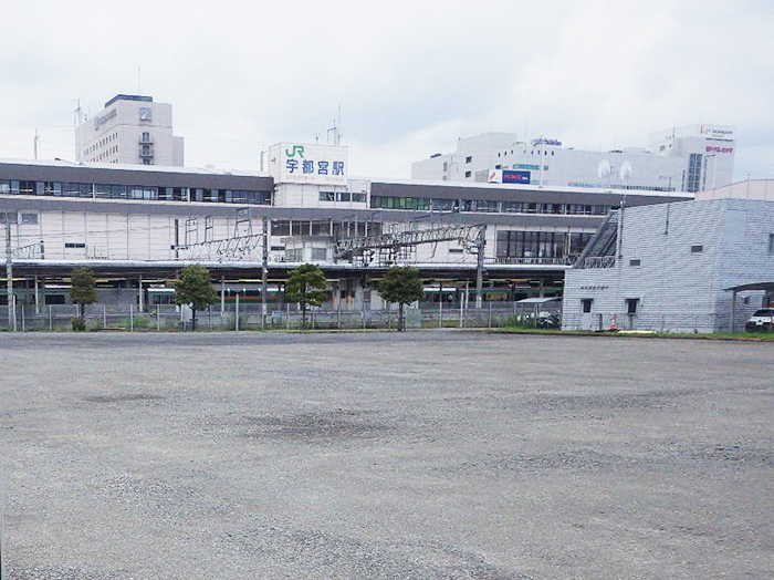 JR宇都宮駅東口第2自転車駐車場 舗装版等撤去工事